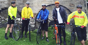 What a challenge the charity Lakes & Dales Cycle ride turned out to be