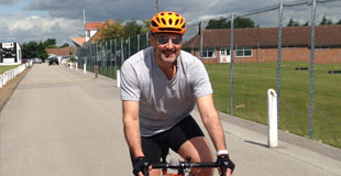 Alex to do charity bike ride in order to raise funds for Children with Cancer UK