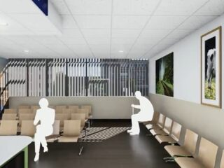 Construction Will Begin Imminently for the Refurbishment of a Vascular Unit.