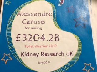 ACA Fund-raise for Kidney Research UK!