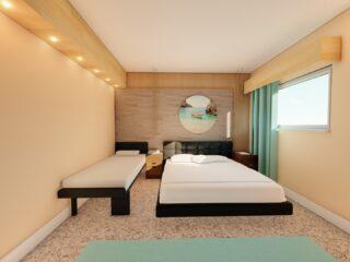 Hotel Room Interior Design, Sicily