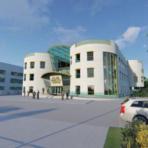 Allam Endoscopy Centre's Hospital Design