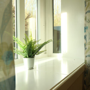 Window Sill with Natural Light