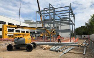 Construction of Allam Diabetes Centre in Hull