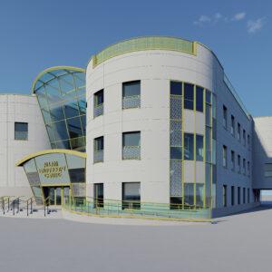 Allam Endoscopy Centre's Initial Architectural Design