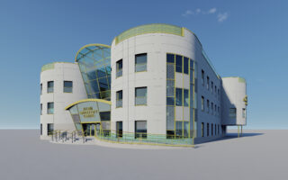 Allam Endoscopy Centre's Architectural Design - 3D Visualisation