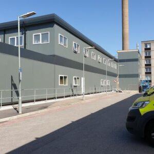 New Covid Wards at Hull Royal Infirmary