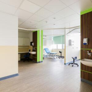 Dementia-friendly healthcare facility interior design