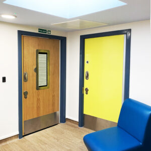Alessandro Caruso Architects use sky lights to brighten up rooms in Miranda House, Hull.