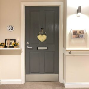 homely interior design which is dementia-friendly