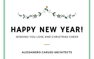 Merry Christmas From Alessandro Caruso Architects (ACA) - Happy New Year