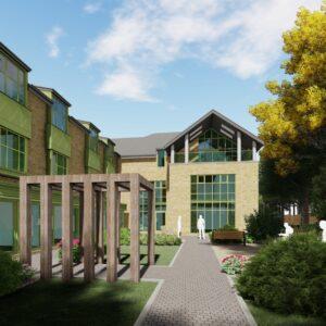 Alessandro Caruso Architects EMI Care Home Design