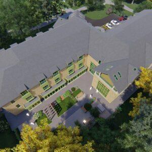 Alessandro Caruso Architects' new build EMI Care Home design for Millenium Care