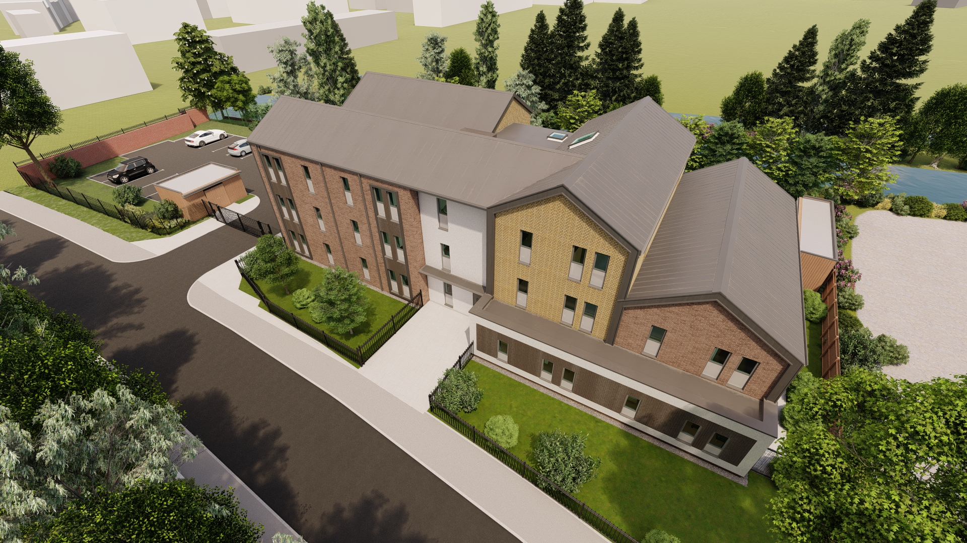 Alessandro Caruso Architects Design Supported Living Apartments for HB Villages
